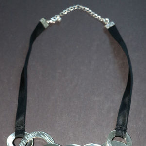 Avon Jewelry - Jet Plain Bold Chunky Silver Ring Circle Fashion